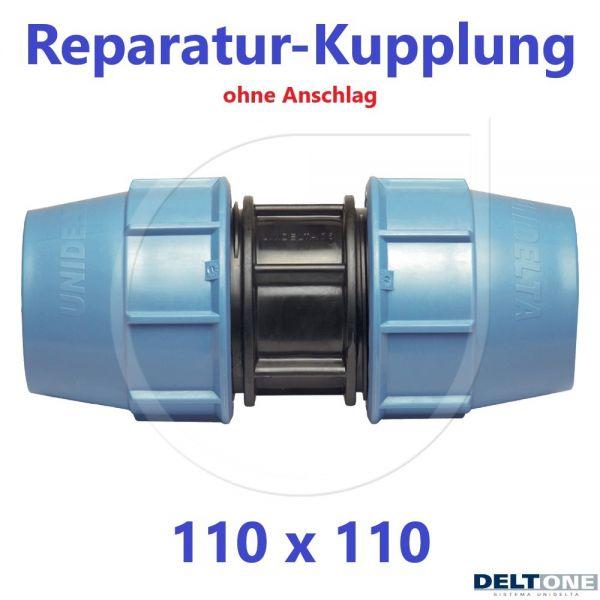 UNIDELTA Klemmverbinder Reparaturkupplung 110mm DN100