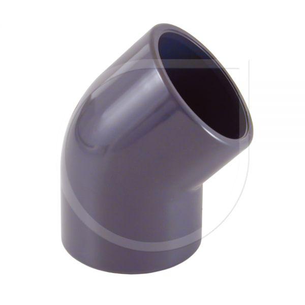 PVC Winkel 45° I/I