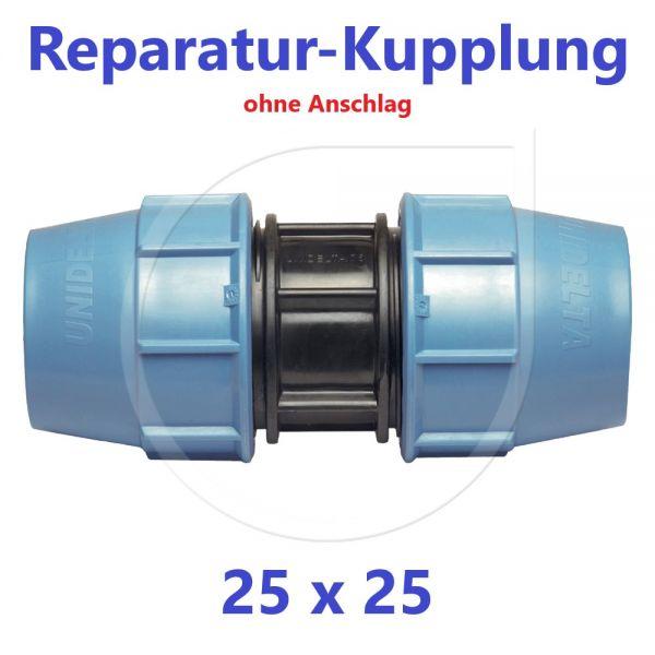 UNIDELTA Klemmverbinder  Reparaturkupplung 25mm DN20
