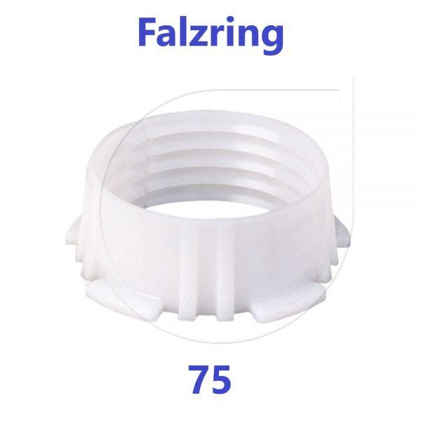 UNIDELTA Klemmring Ersatzteil Falzring 75 mm