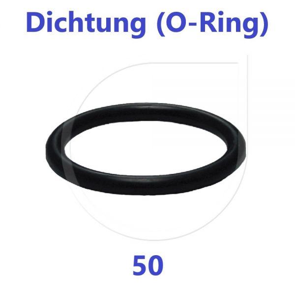 UNIDELTA O-Ring Dichtung Ersatzteil 50 mm