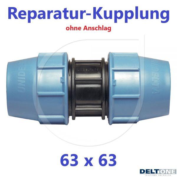 UNIDELTA Klemmverbinder Reparaturkupplung 63mm DN50