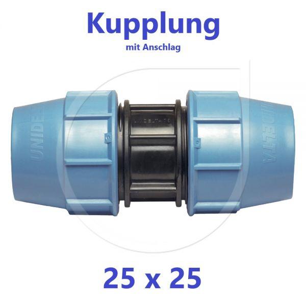 UNIDELTA Klemmverbinder Kupplung 25mm DN20