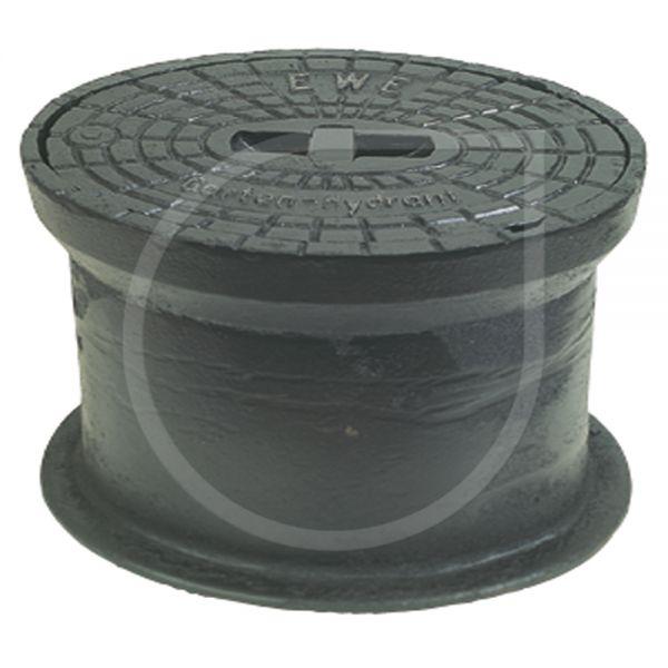 Straßenkappe oval, ähnlich DIN4055