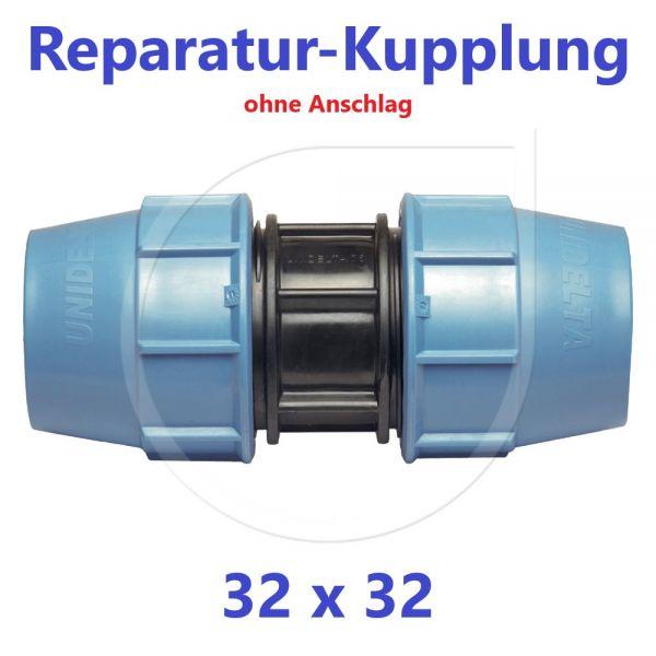 UNIDELTA Klemmverbinder Reparaturkupplung 32mm DN25