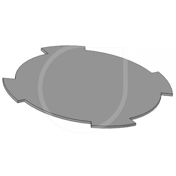 Bodenplatte für VB-10RND-H