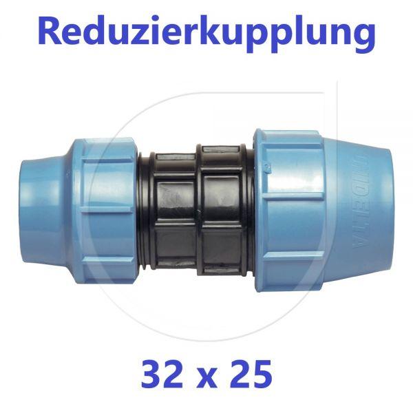 UNIDELTA Klemmverbinder Reduzierkupplung 32 x 25mm DN25xDN20