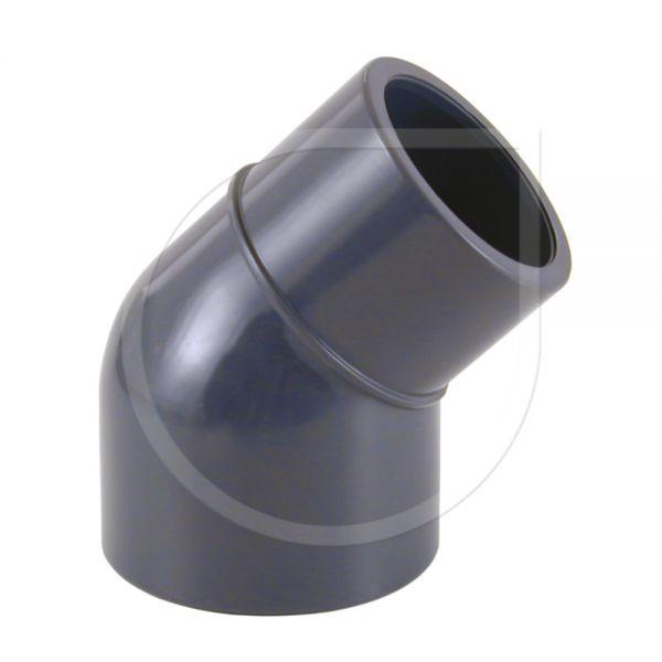 PVC Winkel 45° I/A