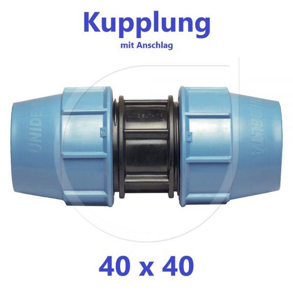 UNIDELTA Klemmverbinder Kupplung 40mm DN32