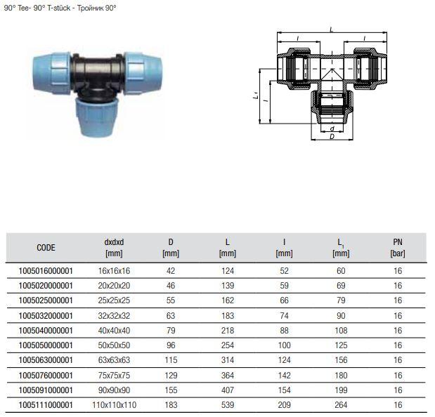 Abmessungen-T-St-ck-Code-1005