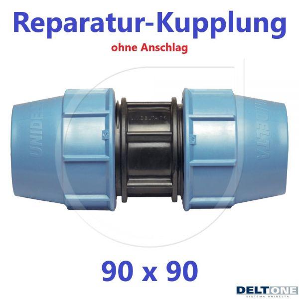 UNIDELTA Klemmverbinder Reparaturkupplung 90mm DN80