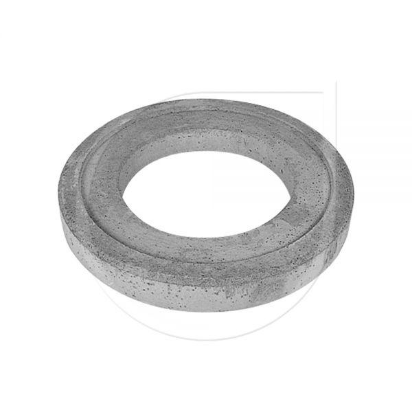Tragplatte (Beton) für Straßenkappe rund