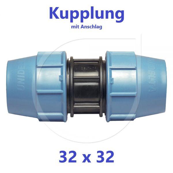 UNIDELTA Klemmverbinder Kupplung 32mm DN25