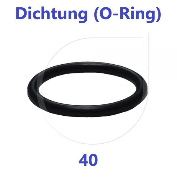 UNIDELTA O-Ring Dichtung Ersatzteil 40 mm