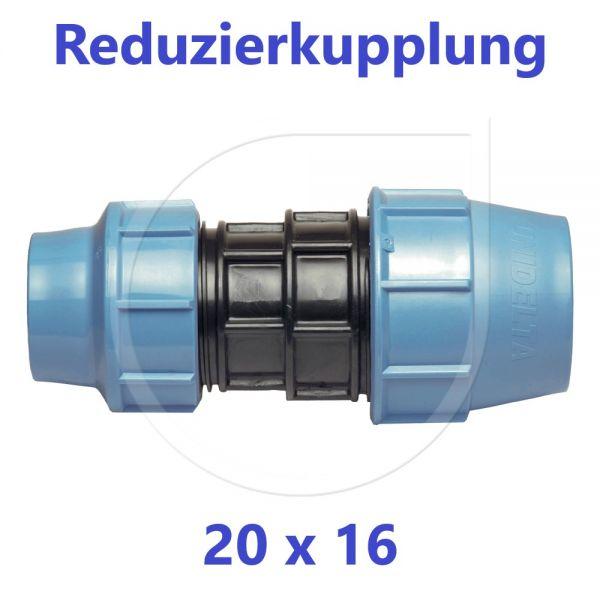 UNIDELTA Klemmverbinder Reduzierkupplung 20 x 16mm DN15xDN10