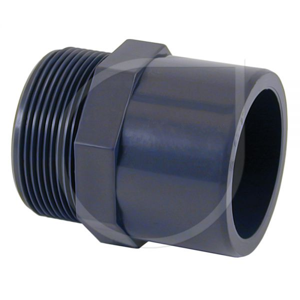 PVC Übergangsnippel mit Außengewinde