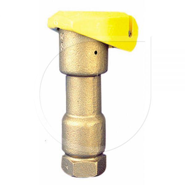"""Schnellkupplungsventil 3/4"""" Bronze"""