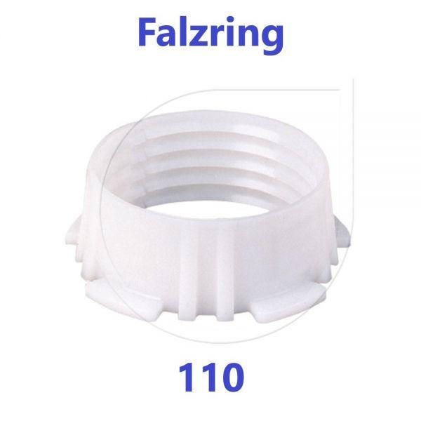 UNIDELTA Klemmring Ersatzteil Falzring 110 mm