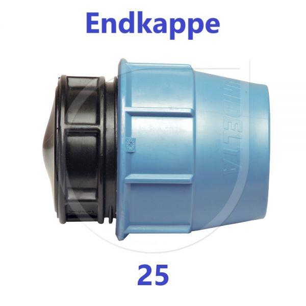 UNIDELTA Klemmverbinder Endkappe Stopfen 25mm DN20