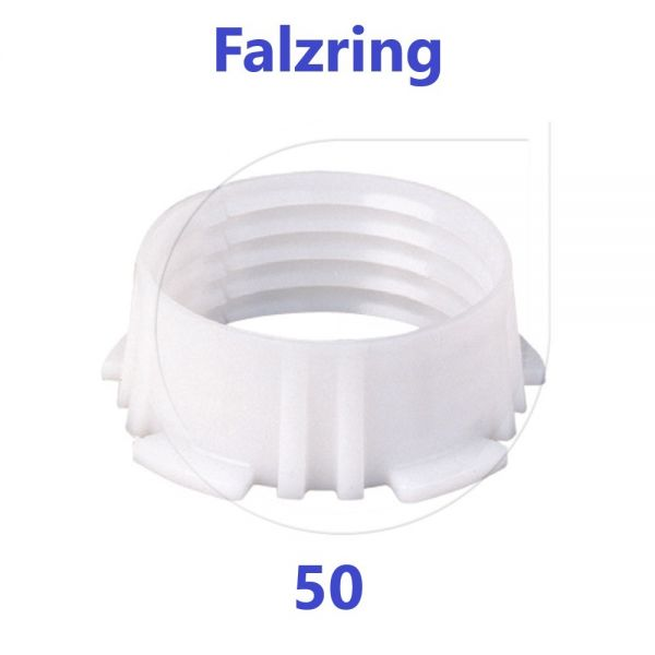 UNIDELTA Klemmring Ersatzteil Falzring 50 mm