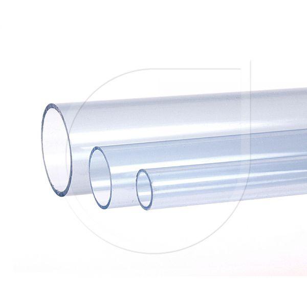PVC Druckrohr transparent