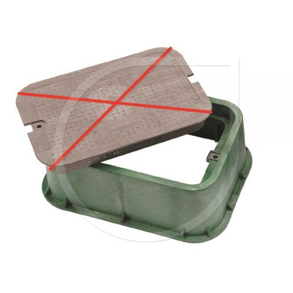 Verlängerung (Grün) für Ventilboxen Typ VB