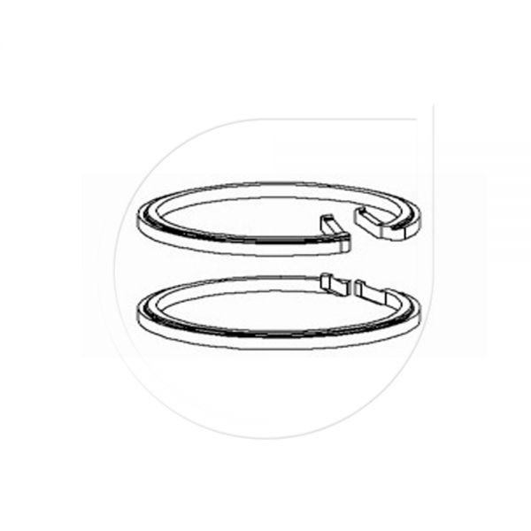 Ring (2x) für Eagle900 / 950 für Fußventil (weiß)-Copy