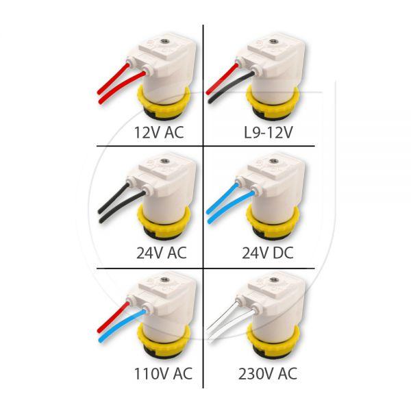 Magnetspulen für PRE Ventile