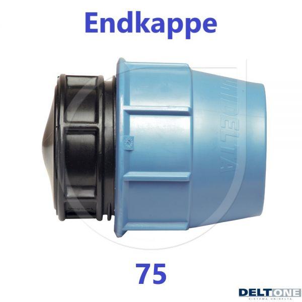 UNIDELTA Klemmverbinder Endkappe Stopfen 75mm DN65 DeltOne