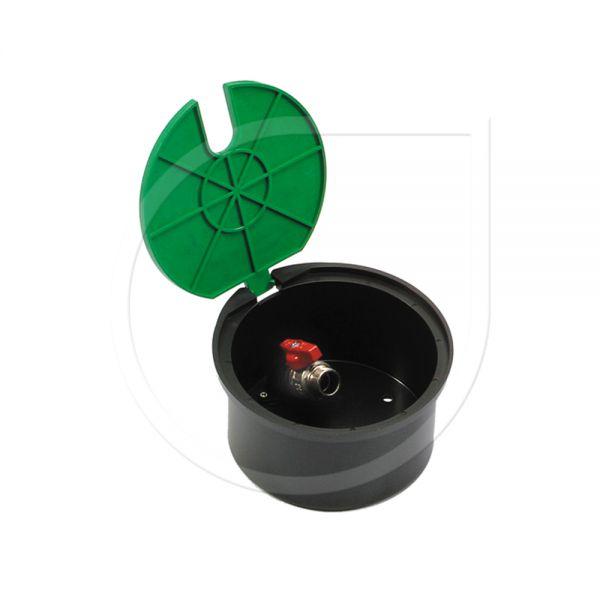 Runder Ventilkasten mit Kugelhahn Typ VBA17186