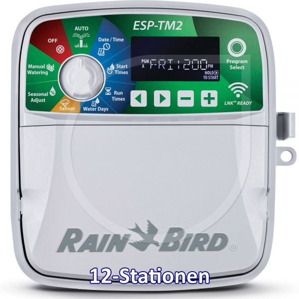 Rain Bird ESP-TM2 12-Stationen
