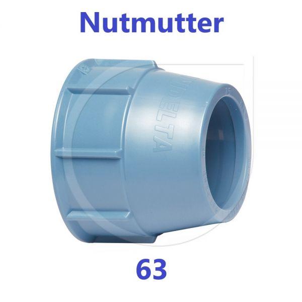 UNIDELTA Überwurfmutter Ersatzteil 63 mm